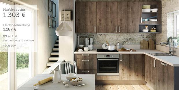 Muebles de cocina de madera en Terrassa