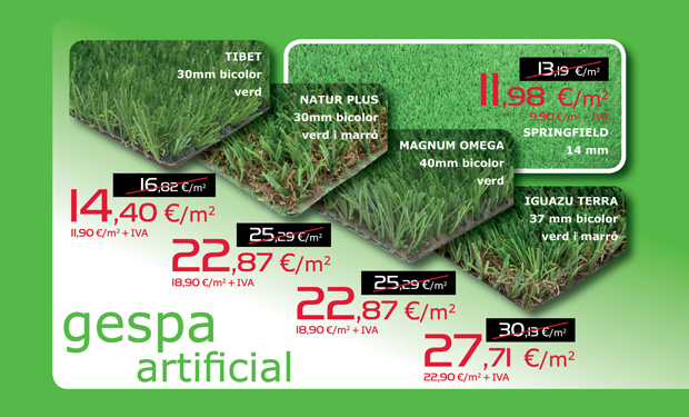 Oferta de c sped artificial solomat cocinas ba os - Cesped artificial oferta ...