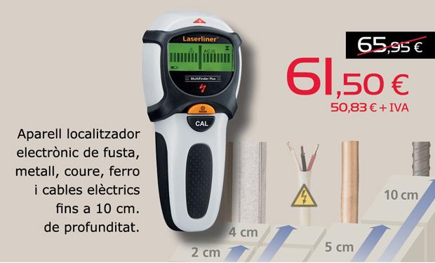 Detector de cables eléctricos