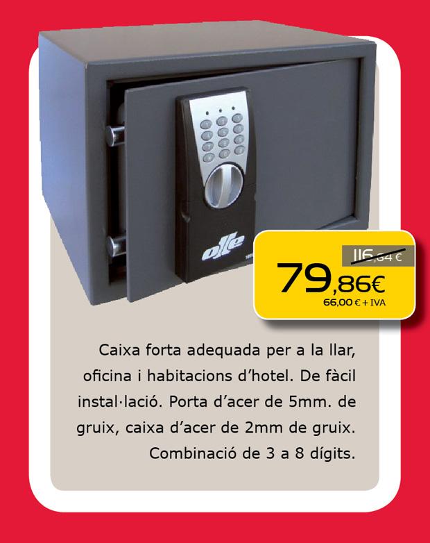 Caja fuerte para el hogar o oficina en Terrassa, Sabadell, Matadepera, Sant Cugat del Valles, Castellar del Valles, Vacarisses, Rubi, Viladecavalls