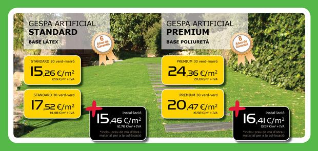 Oferta de césped artificial en Terrassa, Matadepera, Sabadell, Sant Cugat del Valles, Castellar del Valles, Viladecavalls