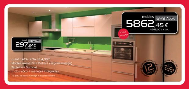 Muebles laca de cocina en Terrassa, Matadepera, Sabadell, Viladecavalls, Sant Cugat del Valles, Castellar del Valles, Sabadell