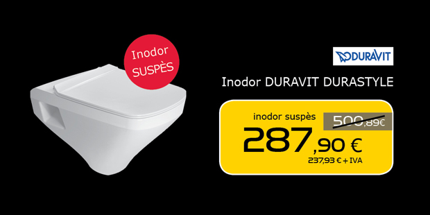 Inodoro suspendido DURAVIT Durastyle