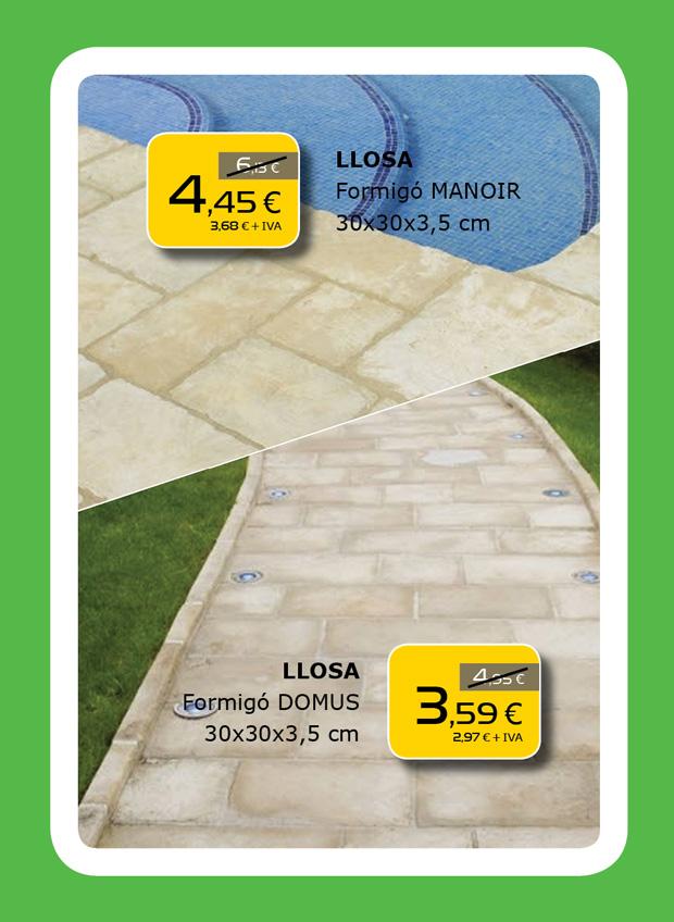 Losas de hormigón para pavimento de jardín en Terrassa, Matadepera, Viladecavalls, Sabadell, Sant Cugat del Valles, Castellar del Valles, Viladecavalls...