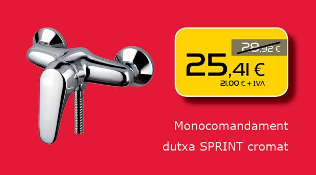Monomando de ducha en Terrassa, Matadepera, Sabadell, Sant Cugat del Valles, Castellar del Valles, Viladecavalls