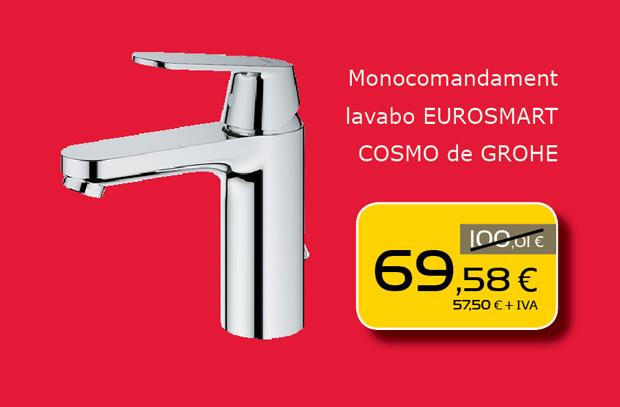 Monomando de lavabo GROHE en Terrassa, Sabadell, Matadepera, Sant Cugat del Valles, Castellar del Valles, Viladecavalls...