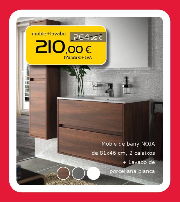 Mueble de baño NOJA + Lavabo