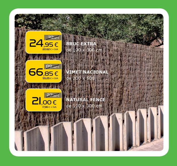 Las mejores ofertas en sistemas de ocultación para jardín en Terrassa, Sabadell, Matadepera....