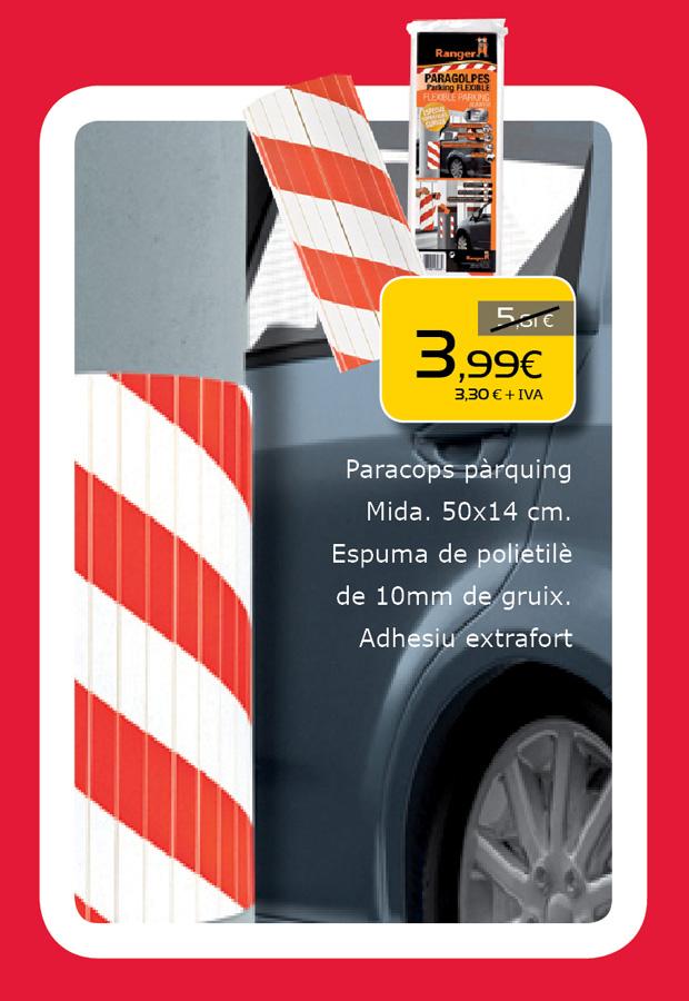 Protector paragolpes para el parking en Terrassa, Sabadell, Matadepera, Sant Cugat del Valles, Castellar del valles, Viladecavalls