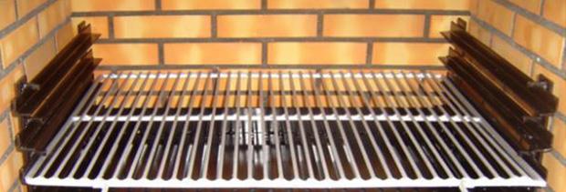 Barbacoa ladrillo refractario solomat cocinas ba os - Barbacoas de ladrillo refractario ...
