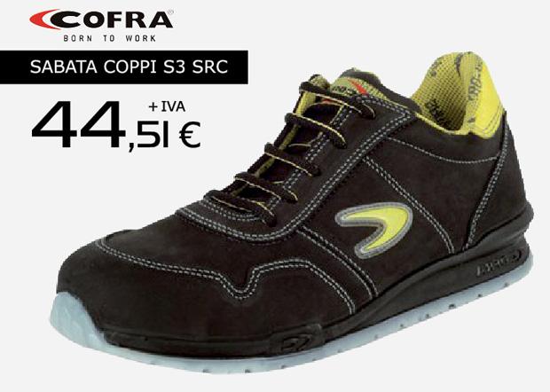 Calzado laboral Cofra en oferta. Promoción válida hasta el 31 de Noviembre de 2014.