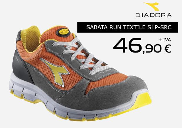 Calzado laboral Diadora en oferta. Promoción válida hasta el 31 de Noviembre de 2014.