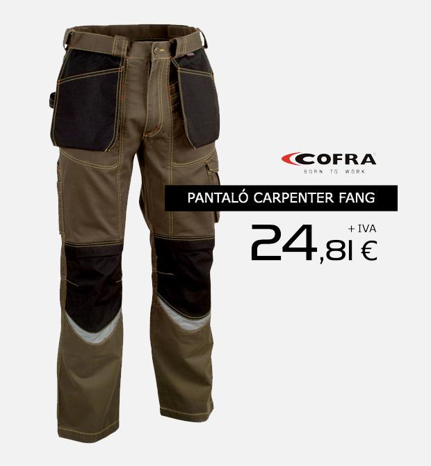 Ropa laboral Cofra en oferta. Promoción válida hasta el 31 de Noviembre de 2014.