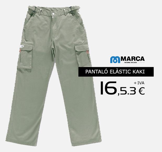 Roba laboral Marca en oferta. Promoción válida hasta el 31 de Noviembre de 2014.