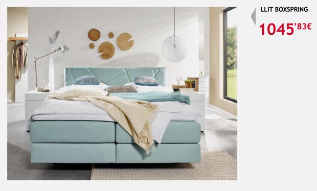 moble terrassa solomat cama boxspring