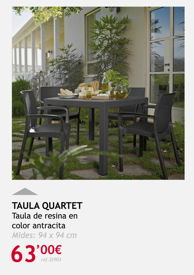 muebles terrassa mesa quartet