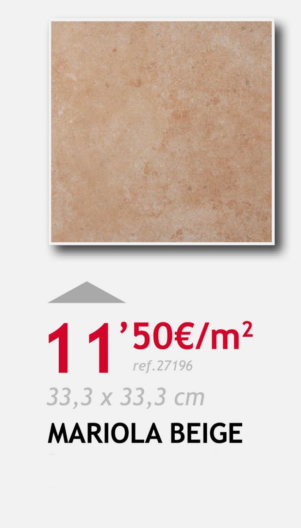 terrassa ceramica mariola beige
