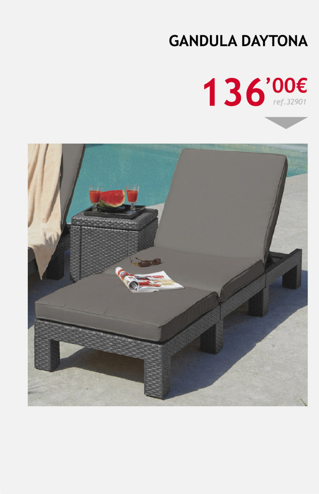 terrassa muebles tumbona daytona