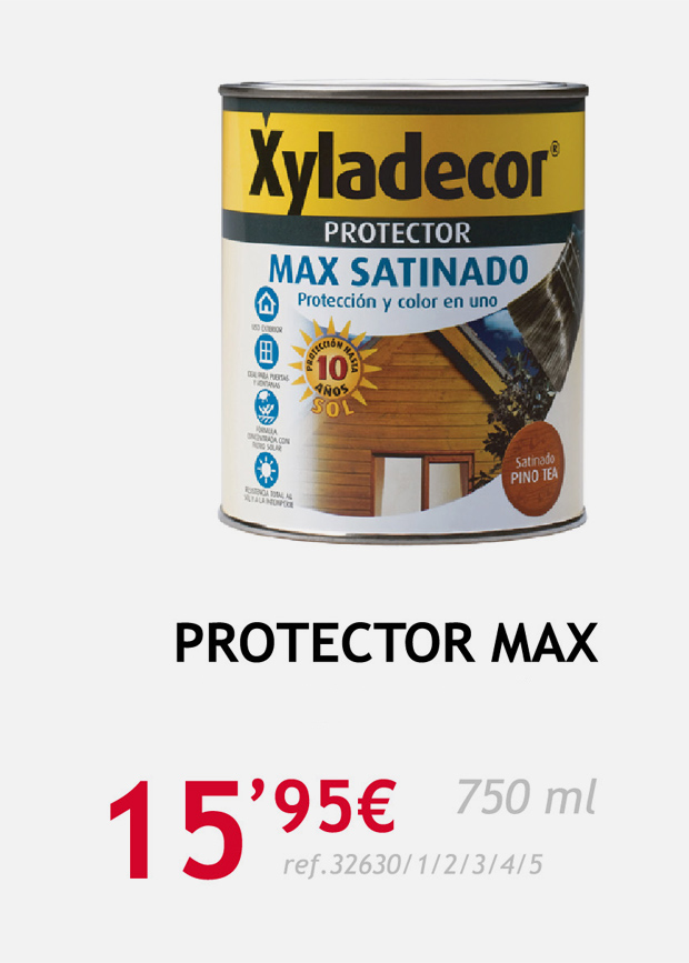 terrassa protector madera max