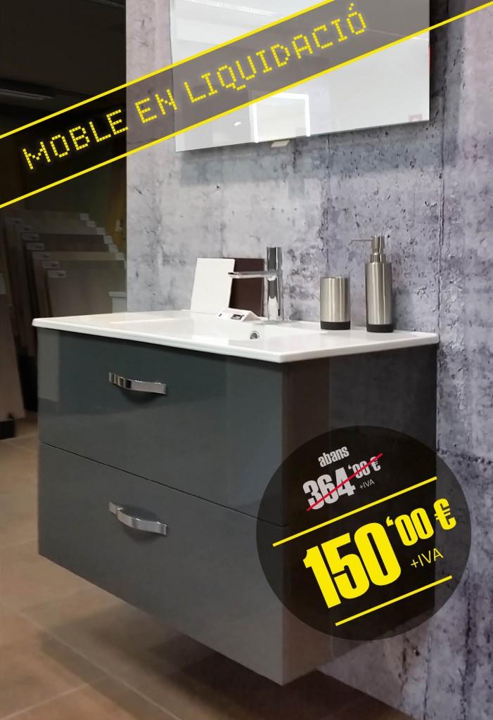 Liquidación de mueble de baño OLA  SOLOMAT - cocinas, baños, cerámica, parqu...