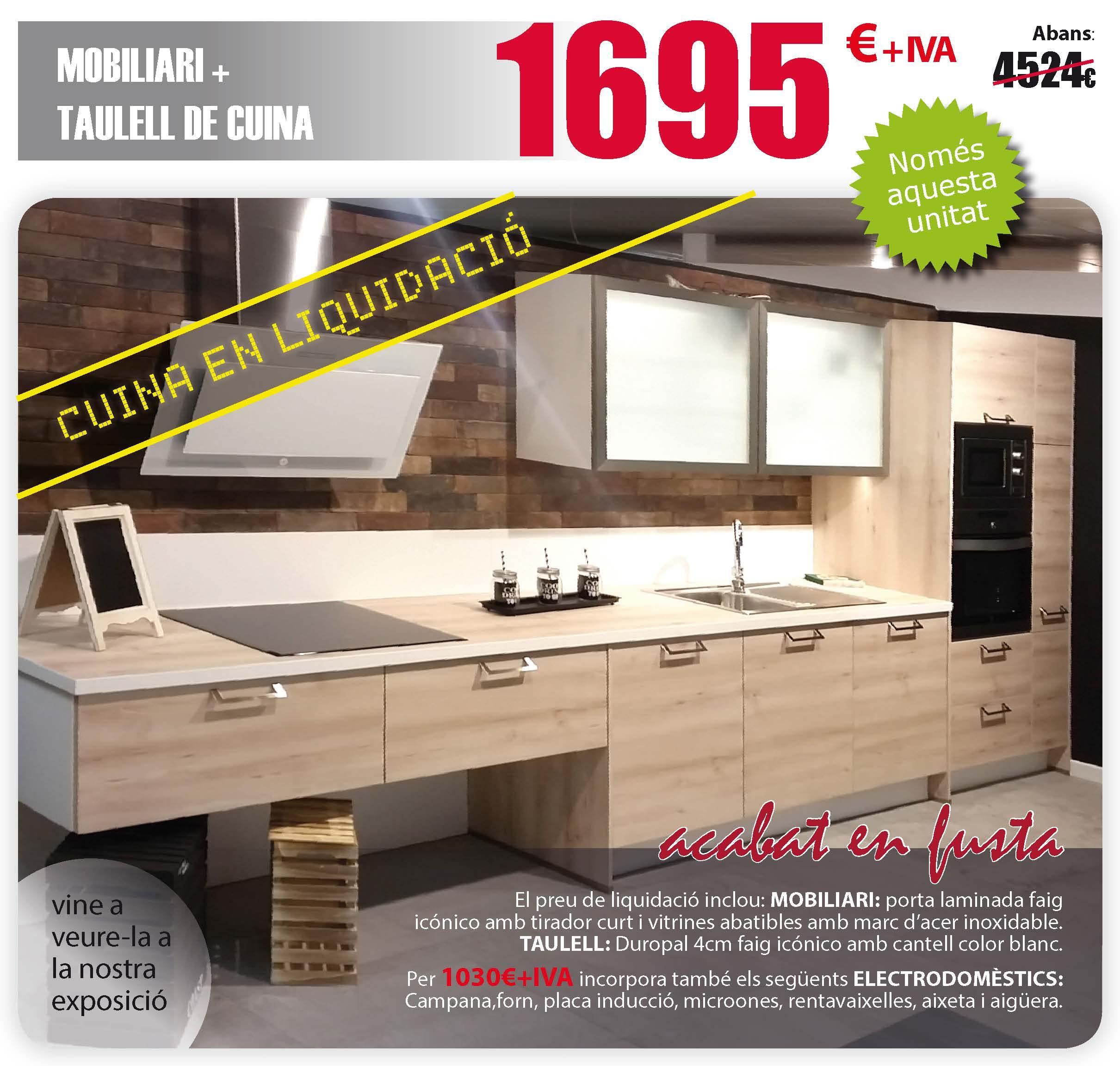 Muebles De Cocina Solomat Cocinas Ba Os Cer Mica Parquet  # Muebles Liquidacion Por Cierre