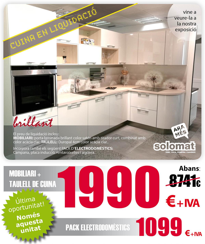 Muebles De Cocina Solomat Cocinas Ba Os Cer Mica Parquet  # Muebles Liquidacion