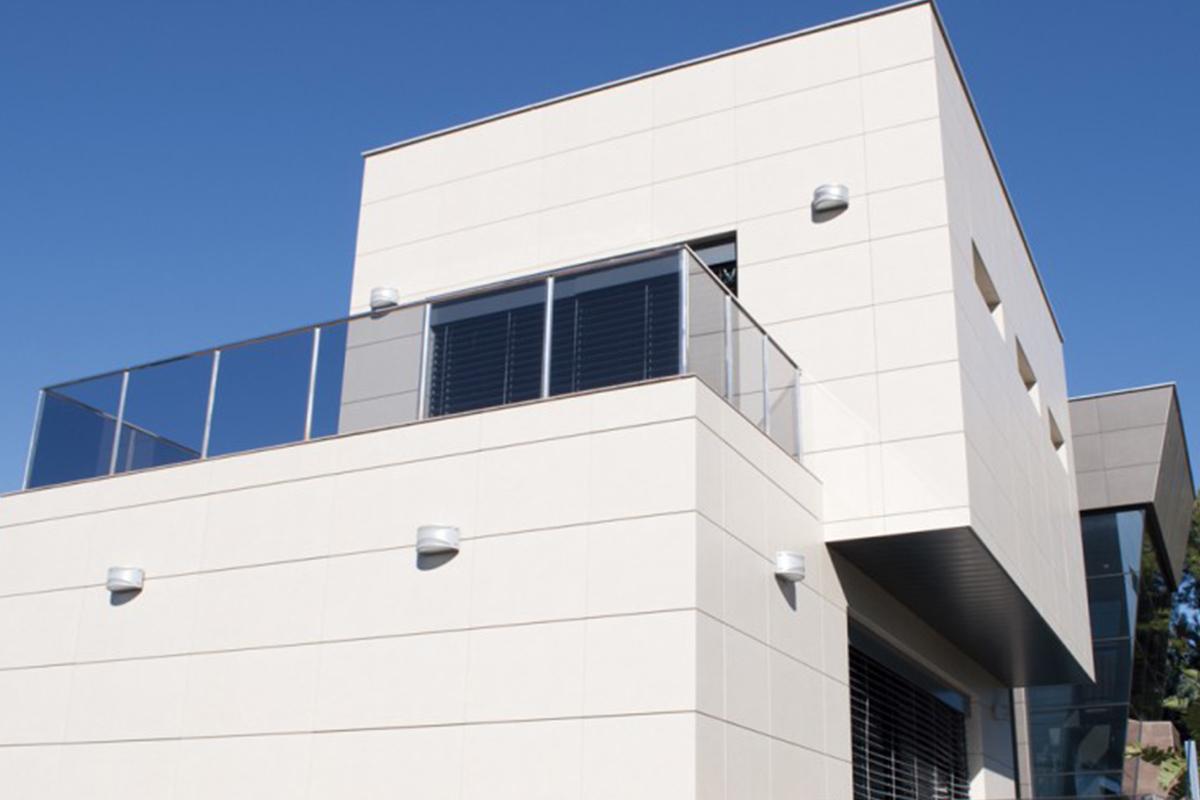 Fachada ventilada solomat cocinas ba os cer mica - Productos para impermeabilizar fachadas ...