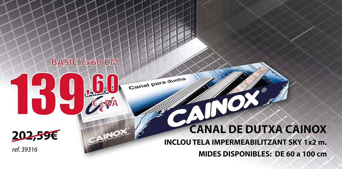 Canal de ducha inox en Terrassa