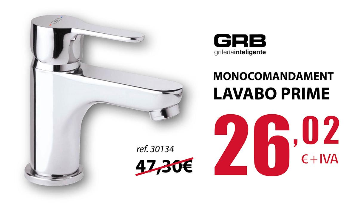 (Español) Monomando de lavabo Prime en Terrassa