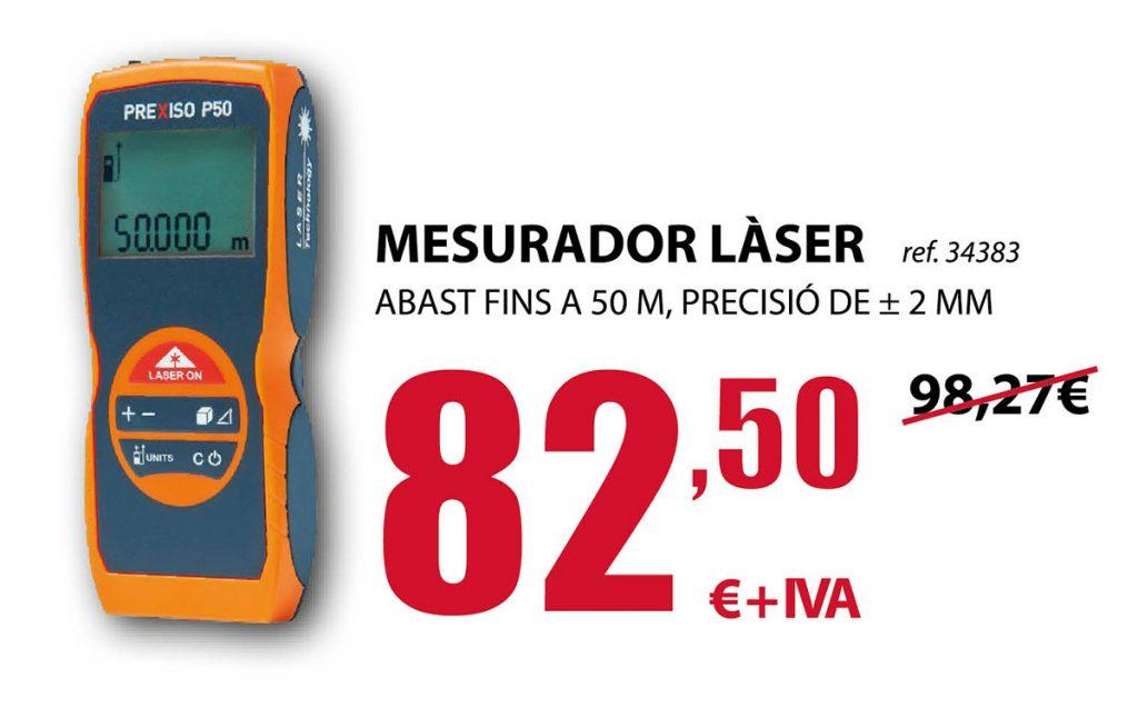 Medidor láser de alta precisión en Terrassa