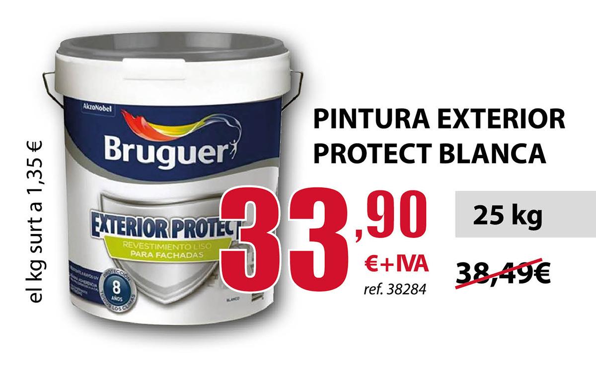 Pintura exterior protect blanca de Bruguer en Terrassa