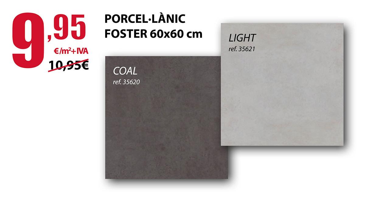 Porcelanico Foster 60x60 cm en Terrassa