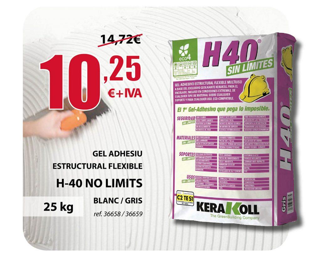 Gel Adhesivo H-40 No Limits