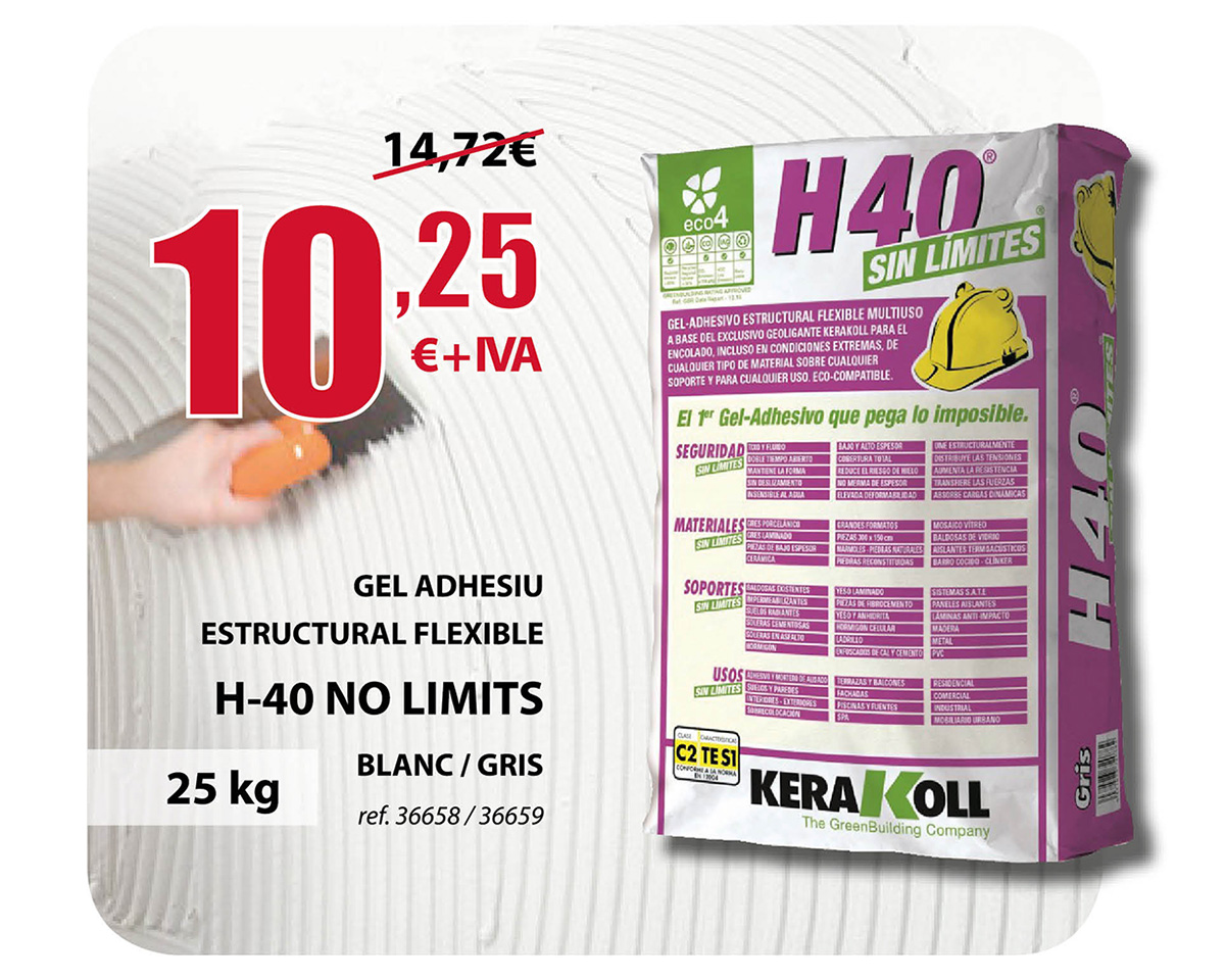 Gel Adhesivo H-40 No Limits