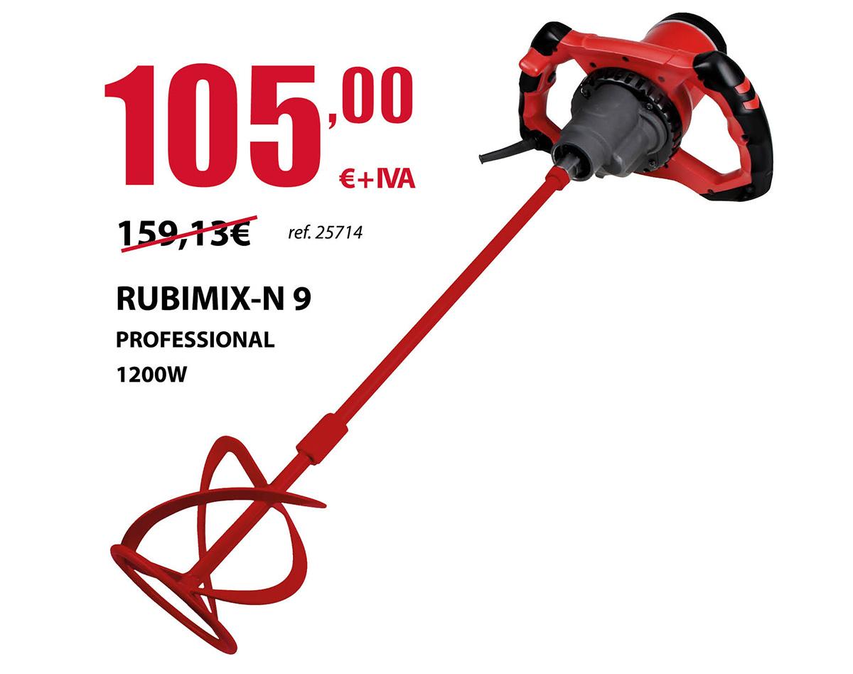 Oferta Mezclador Rubimix-N-9 en Terrassa