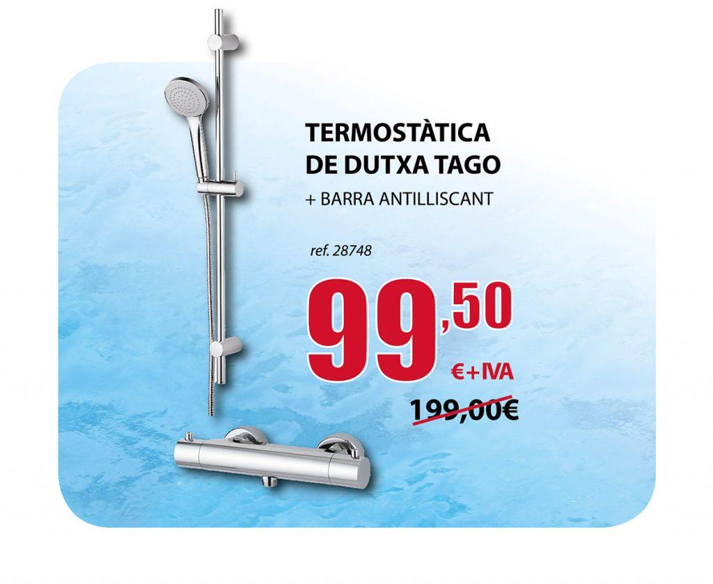 Oferta termostática de ducha Tago en Terrassa