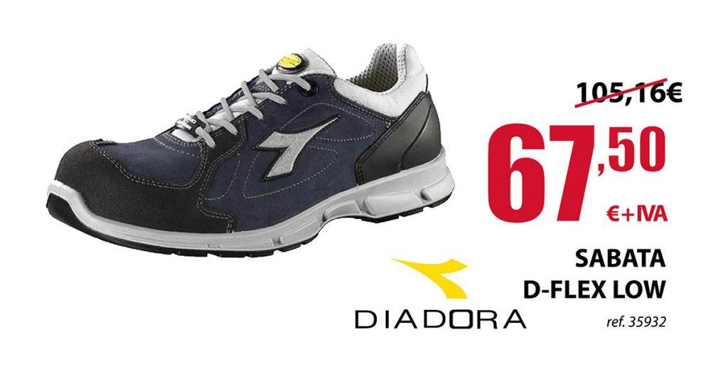 Zapato Laboral Diadora D-Flex Low