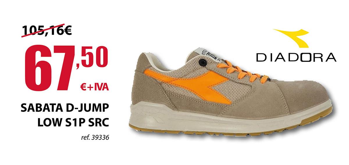 Zapato Laboral Diadora D-Jump Low