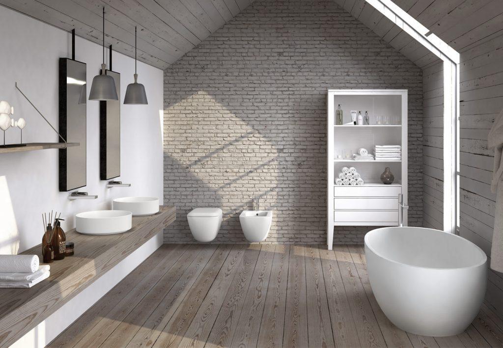 Baño natural-blanco