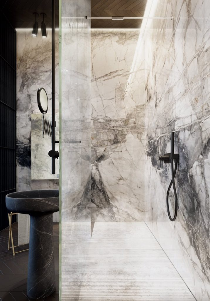 baño pequeño moderno- cornella- terrassa - cocina - ceramica - passivhaus