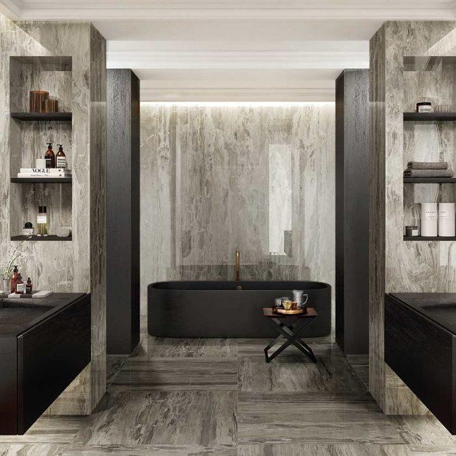 Cerámica con acabados distintos - reformas - rehabilitación - baños - interiores - cocinas - cerámica